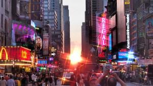 Las calles de Nueva York, siempre repletas de gente