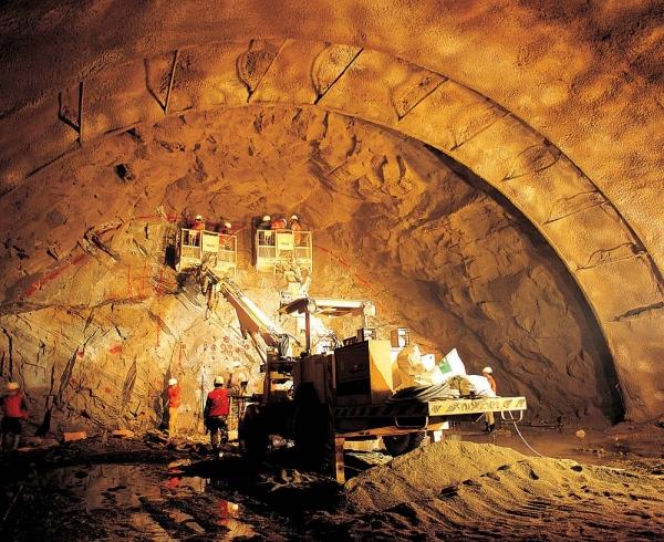 Método convencional para la construcción de túneles