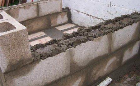 Construcciones Yamaro y los materiales: el bloque de concreto