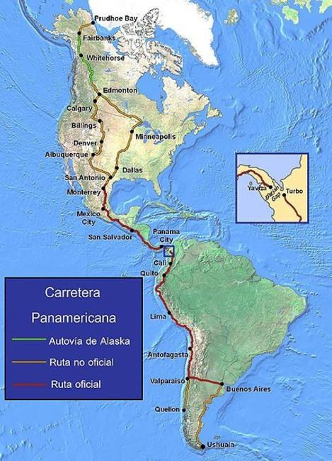 Rusia, Australia y Panamá tienen las carreteras más largas del mundo
