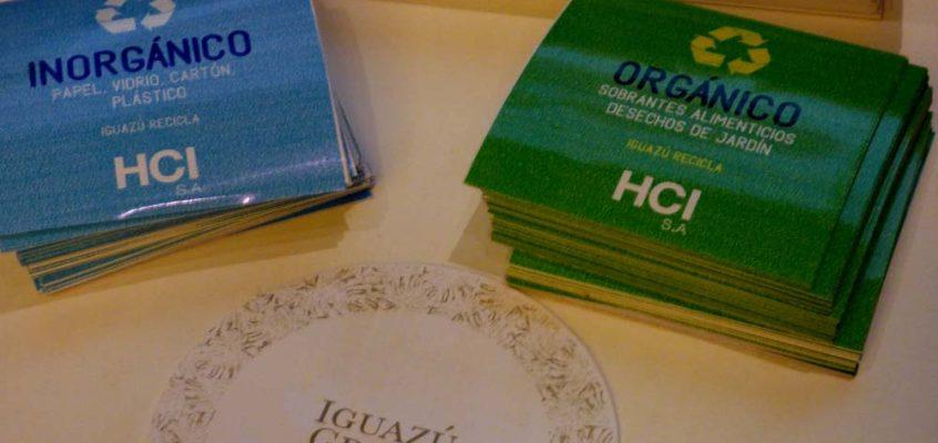 Grupo HCI SA promueve separación de residuos