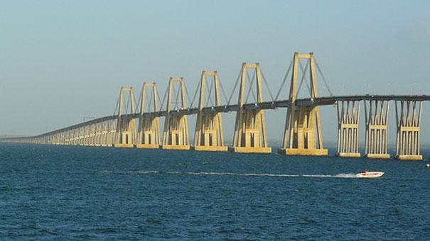 ¡DEBES SABERLO!: Grandes construcciones. Puente sobre el Lago de Maracaibo