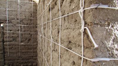 ¡ENTÉRATE! Sistema de drizas, un refuerzo a los muros de adobe