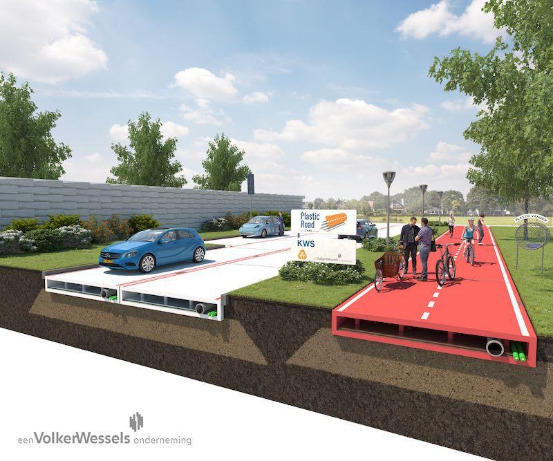 Armando Antonio Iachini Lo Medico: Futuras carreteras holandesas hechas de plástico reciclado serán como Legos