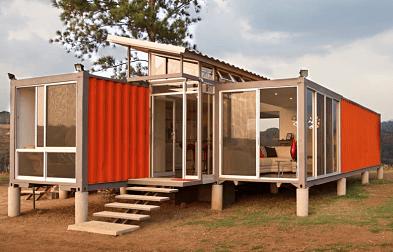Armando Iachini: Casa con contenedor