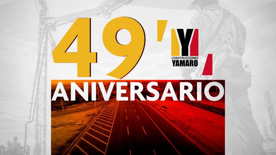 Armando Iachini felicita al equipo de Construcciones Yamaro por su 49 aniversario