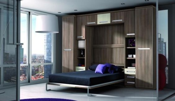 Armando Iachini Estantes 1 - Armando Iachini: Muebles de almacenamiento para espacios pequeños