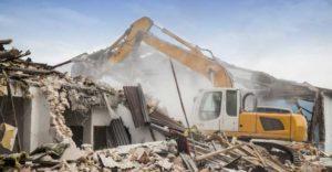 consejos para reducir los peligros durante una demolicion