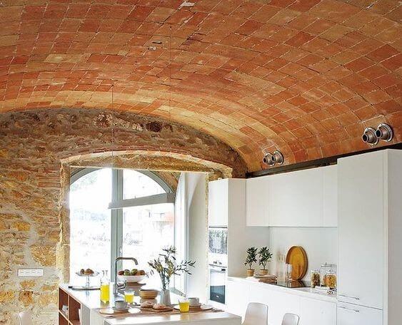 Armando Iachini - La elegancia de los techos abovedados