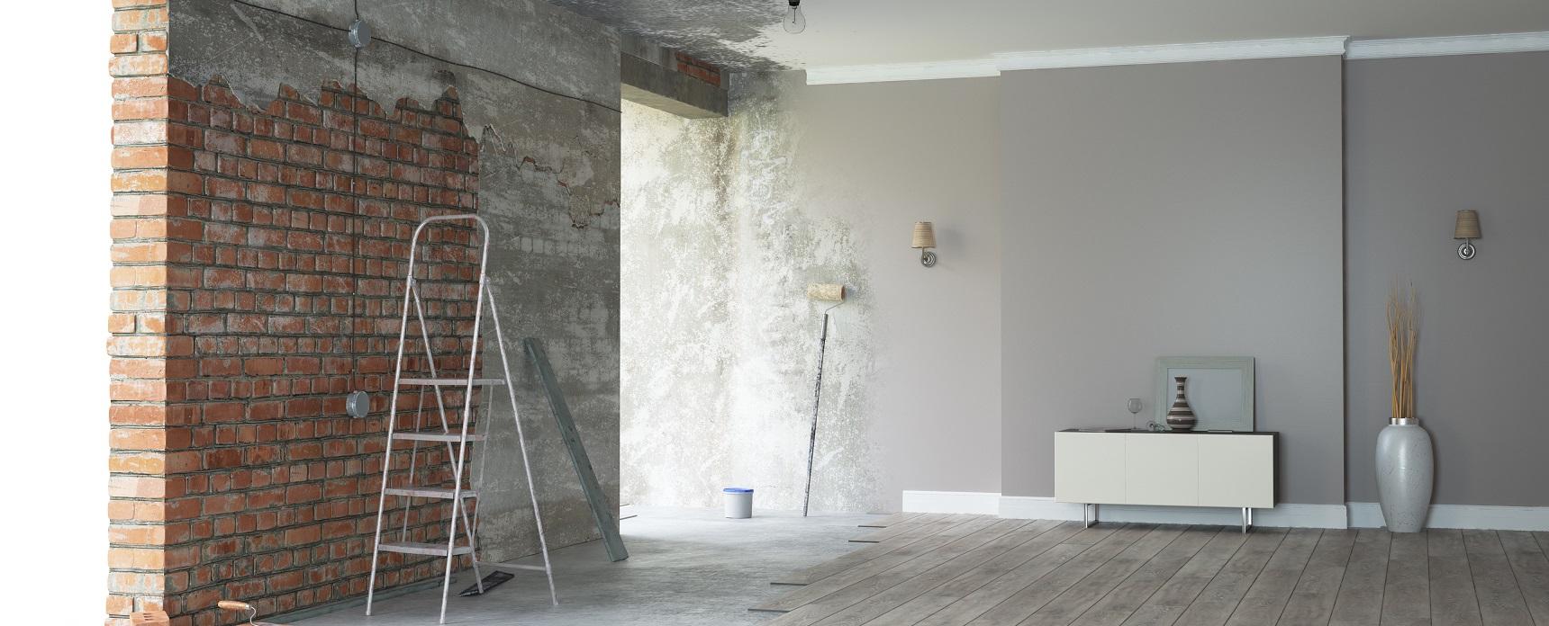 Las remodelaciones en una construcción