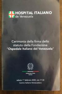 954 armando iachini comunidad italiana en venezuela tendra un hospital - Armando Iachini: comunidad italiana en Venezuela tendrá un hospital