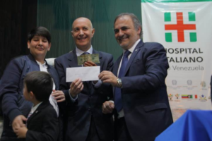 armando iachini comunidad italiana en venezuela tendra un hospital