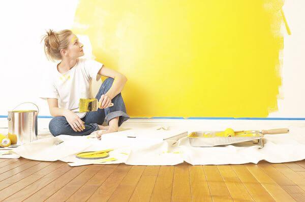 La pintura ideal para cada espacio del hogar