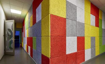 Armando Iachini Uso de paneles aislantes de ruidos