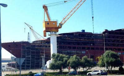 Armando Iachini Los barcos grandes obras de la construcción naval