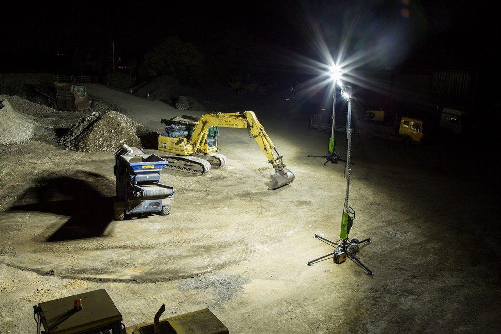 Equipos de iluminacion en obras de construccion Armando Iachini 2 1024x683 - Equipos de iluminación en obras de construcción