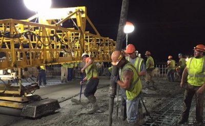 Equipos de iluminacion en obras de construccion Armando Iachini