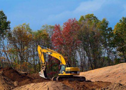 Movimiento de tierra en las construcciones